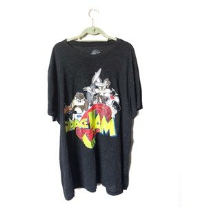 Tops - Space Jam graphic tee with colored pill detail